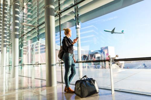 Voyageur aéroport