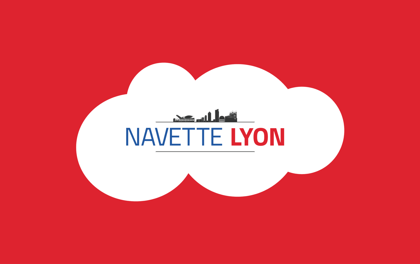 Logo Navette Lyon dans nuage