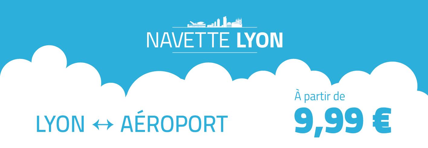 Liaison Lyon Aéroport 9,99€