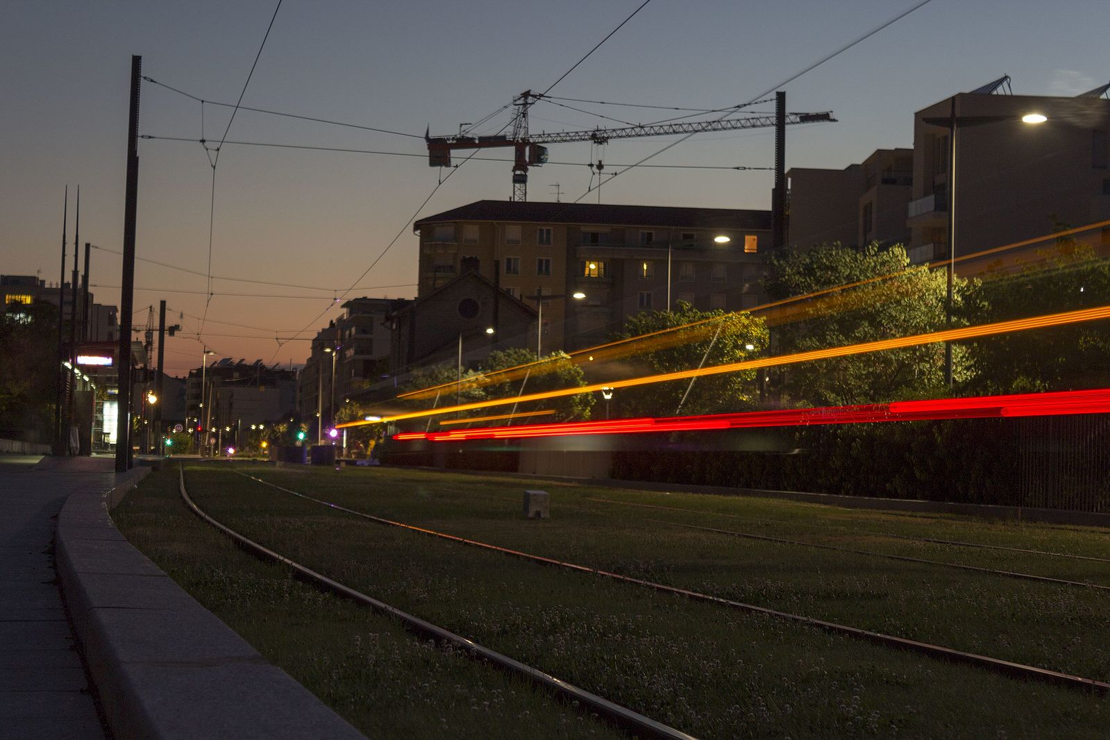 Rhône Express à Villeurbanne