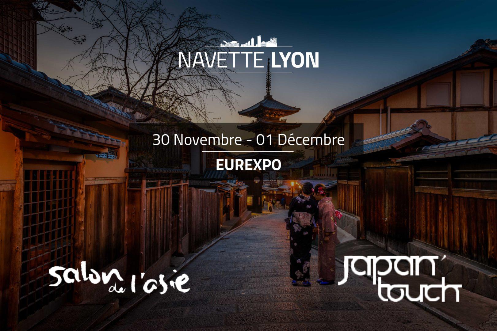 Le Salon de l'Asie et la Japan Touch à Lyon