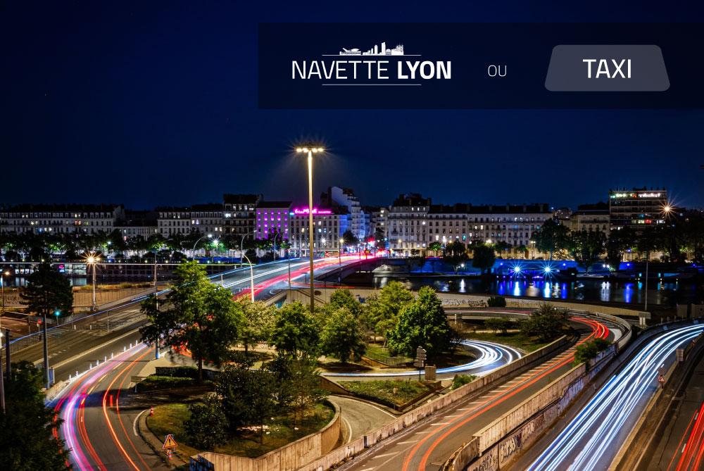 Quelles différences entre le service Navette Lyon et un service de taxi ?